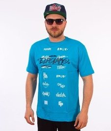 El Polako-Logosy T-Shirt Niebieski