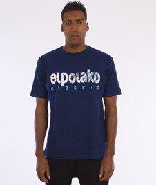 El Polako-Shadow Classic T-Shirt Granatowy