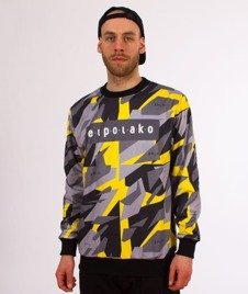 El Polako-Yellow Triangle Moro Bluza Premium