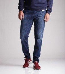 Elade Classic Strech Spodnie Jeansowe Niebieski