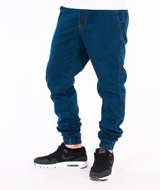 Elade-Denim Jogger Blue