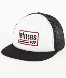 Etnies-Flip Side Czapka Czarna/Biała