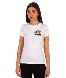 Gang Albanii-Lil Kogz T-shirt Damski Biały