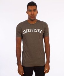 Hype-Bouquet T-Shirt Khaki