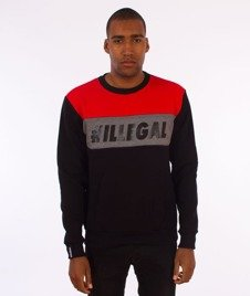 Illegal-Illegal Red Bluza Czarna