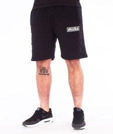 Illegal-Small Spodnie Krótkie Dresowe Czarne
