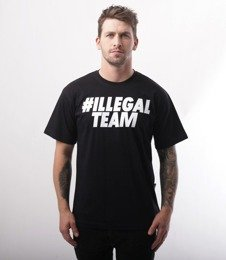 Illegal-Team T-Shirt Czarny