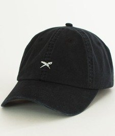 Iriedaily-Dad Flag Snapback Black