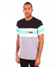 Koka-Stripes 1998 T-Shirt Black/White/Grey