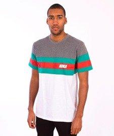 Koka-Stripes 1998 T-Shirt Grey/Green/White