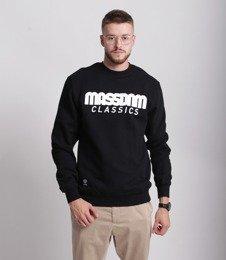 Mass-Classics Crewneck Bluza Black
