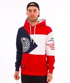 Mass-Republic Bluza Kaptur Red