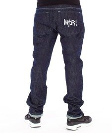 Mass-Signature Tapered Fit Jeans Rinse