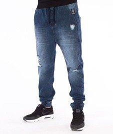 Mass-Street Sign Jogger Trap Fit Spodnie