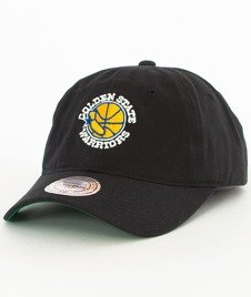Mitchell & Ness-Golden State Warriors Washed Snapback Czapka Czarna