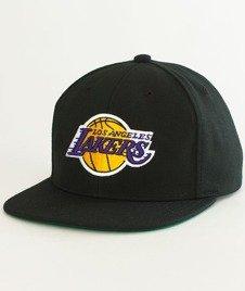 Mitchell & Ness-LA Lakers Wool Solid Snapback NL15Z