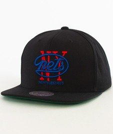 Mitchell & Ness-New York Nets  Snapback NL15Z Black