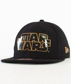New Era-Star Wars Logo Snapback Czarny/Złoty