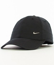 Nike-NSW Czapka z Daszkiem Czarna [340225-010]