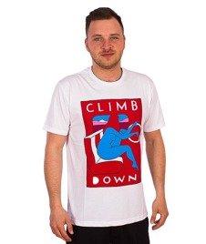 Parra-Climb Down T-Shirt Biały