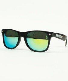 Patriotic-Futura Classic Okulary Czarne/Zielone