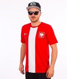 Patriotic-Godło T-Shirt Czerwony