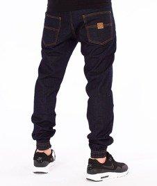 Patriotic-Jeans Jogger Spodnie Ciemny Niebieski
