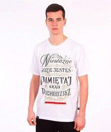Patriotic-Pamiętaj T-shirt Biały