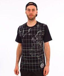 Patriotic-WW Globe T-shirt Czarny