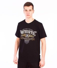 Patriotic-Westriotic T-shirt Czarny