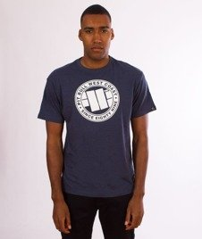 Pit Bull West Coast-Chest Logo T-Shirt Navy