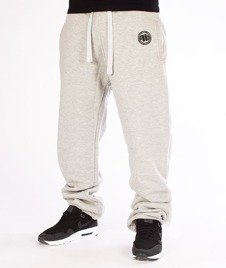 Pit Bull West Coast-Jogging Pants Logo Open End Szare