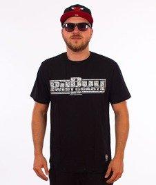 Pit Bull West Coast-Skull Boxing T-Shirt Czarny