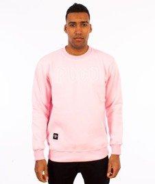 Pogo-Honda Crewneck Bluza Różowa