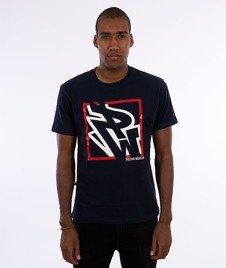 Polska Wersja-PW Do Kwadratu T-shirt Granat