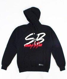 SB Maffija-Big Logo Bluza Kaptur Czarna