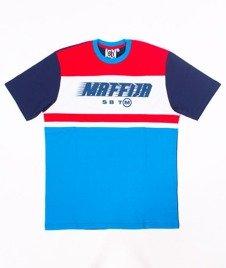 SB Maffija-Sending T-Shirt Czerwony/Niebieski/Granatowy