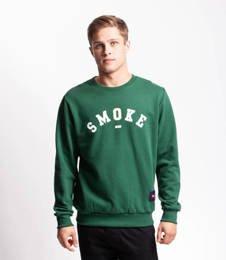 Smoke Story BASEBALL Bluza bez kaptura ciemny Zielony