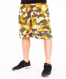 SmokeStory-Moro Flag Premium Krótkie Spodnie Dresowe Kolorowe Moro