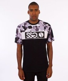 SmokeStory-Moro SSG Premium T-Shirt Czarny/Camo