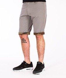 SmokeStory-Moro Wstawki Krótkie Spodnie Szare