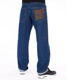 SmokeStory-SMG Regular Jeans Spodnie Medium Blue
