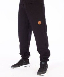 SmokeStory-Skin Regular Spodnie Dresowe Czarne