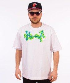 Stoprocent-Arcade Tag T-Shirt Biały