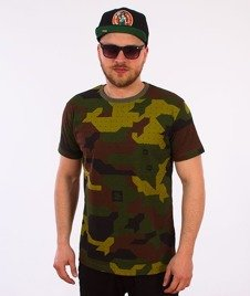 Stoprocent-Camu Slim T-Shirt Green