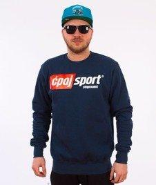 Stoprocent-Ćpaj Sport Bluza Navy Blue