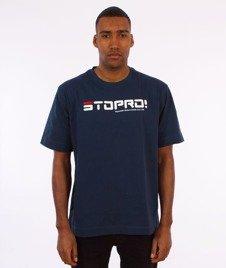 Stoprocent-Siła T-Shirt Granatowy