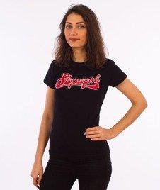 Stoprocent-TDS Stoprogirl17 T-Shirt Damski Czarny