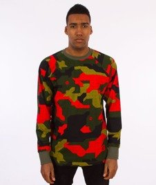 Stoprocent-Tag17 Longsleeve Camu Red