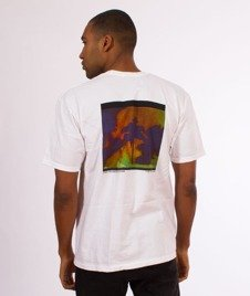 Stussy-Fire on Babylon T-Shirt White